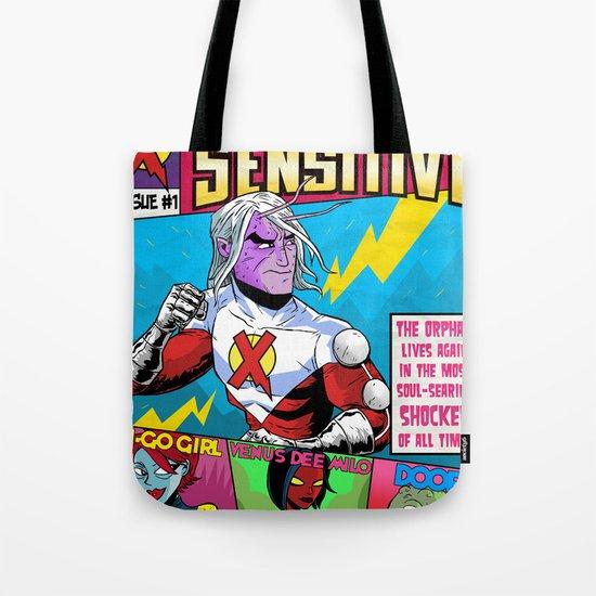 Mister Sensitive #1 Tote Bag