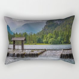 Schiederweiher Rectangular Pillow