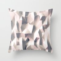 silent Throw Pillows featuring Silent by sanjit