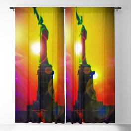 New York NYC - Statue of Liberty 10 Blackout Curtain