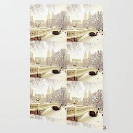 New York City Snow Wonderland Wallpaper