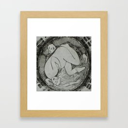 yin and yang (feng shui collection) Framed Art Print