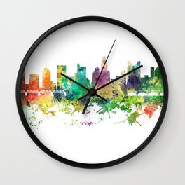 Columbus, Ohio skyline SP Wall Clock