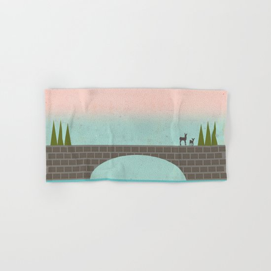 When Country Meets the Sky Hand & Bath Towel