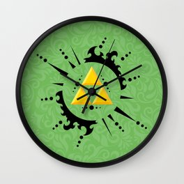 Triforce Zelda Wall Clock