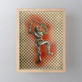 Wall Crawler Framed Mini Art Print