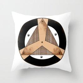 Insignia Organización Throw Pillow