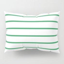 Kelly Green Breton Stripes Pillow Sham