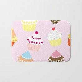 I Love Cupcakes Bath Mat