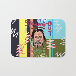 Dope Creates Monsters Circle Bath Mat