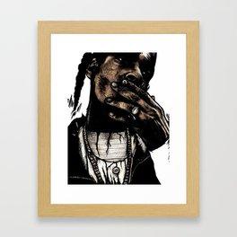 TRIBUTE TO SNOOP DOGG Framed Art Print
