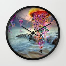 On Distant Shores Wall Clock