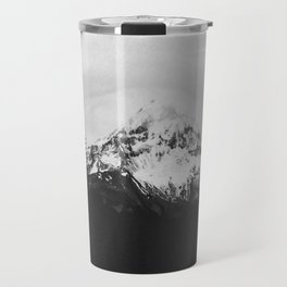 Mt. Hood B&W Travel Mug