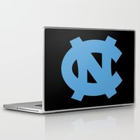 north carolina Laptop & iPad Skins featuring NCAA - North Carolina Tarheels by Katieb1013