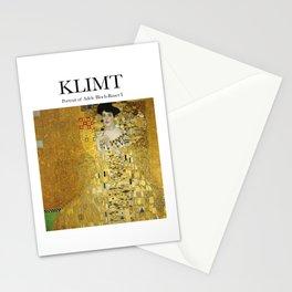 Klimt - Portrait Stationery Cards