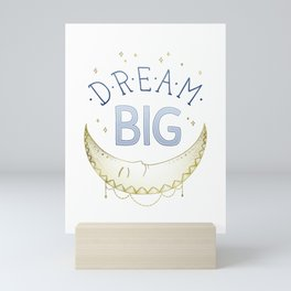 """Dream Big"" inspired by Ariel Kaye, Parachute Home Mini Art Print"