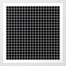 Black and White Optical Illusion Art Print