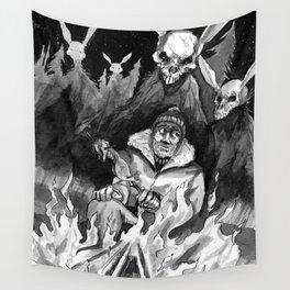 Hunter Beware Wall Tapestry