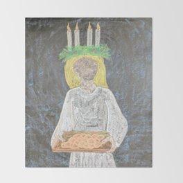 Santa Lucia Throw Blanket