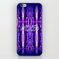 wicked iPhone & iPod Skins featuring Wicked by Chris' Landscape Images & Designs