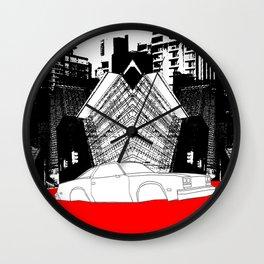 Demolition Derby 1984 Wall Clock