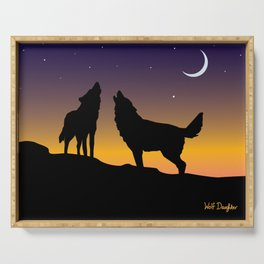Howl Together Serving Tray