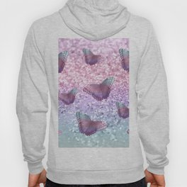 Pastel Unicorn Butterfly Glitter Dream #1 #shiny #decor #art #society6 Hoody