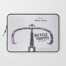 Bicycle Thieves - Movie Poster for De Sica's masterpiece. Neorealism film, fine art print. Laptop Sleeve