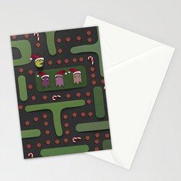 xmas pacman. Stationery Cards