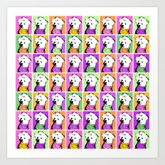 Jessie Jo Warhol Art Print