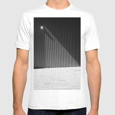 Triangle Mens Fitted Tee MEDIUM White