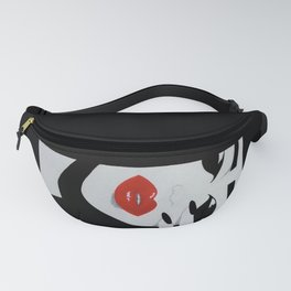 """""""Red Lips"""" Fanny Pack"""