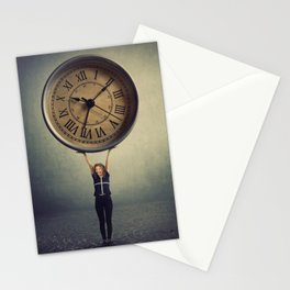 time control Stationery Cards
