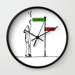 UnFckWithAbLe Wall Clock