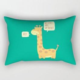 Giraffe problems! Rectangular Pillow