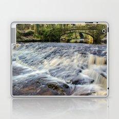 Rivelin River Footbridge Laptop & iPad Skin