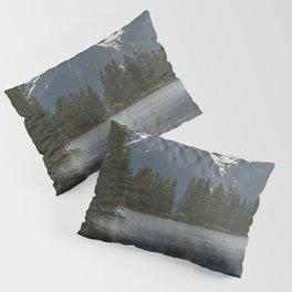 Grand Teton National Park III - Wanderlust Adventure Pillow Sham