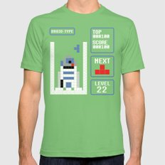 TETRIS: Droid Type LARGE Grass Mens Fitted Tee