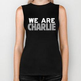We Are Charlie Biker Tank