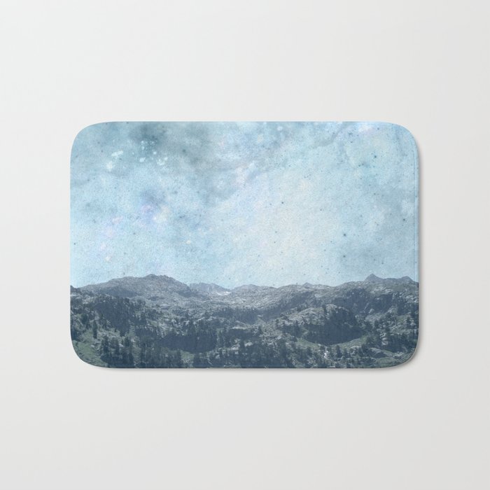 Mystic Mountains Bath Mat
