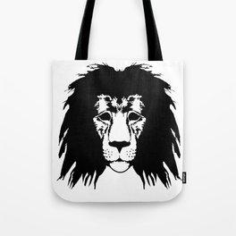 Lion Illustration Tote Bag