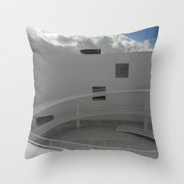 OVNI emergente Throw Pillow