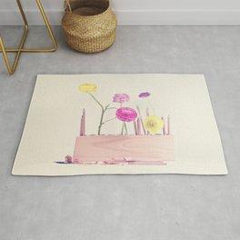 The artist loves pastel Rug