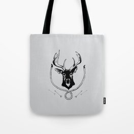 Deer Portrait Tote Bag