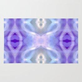 Light Blue Purple White Pastel Rug
