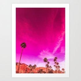 Palm Springs Rush Hour Art Print
