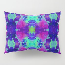 Indigo Butterfly Pillow Sham