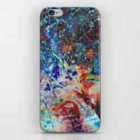 splatter iPhone & iPod Skins featuring Splatter by Stephen Linhart