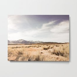 Californian Landscape Metal Print