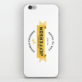State of Jefferson 75th Anniversary Logo iPhone Skin